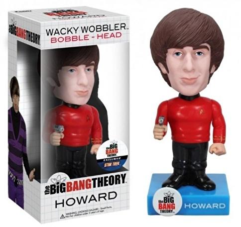 Funko Star Trek Big Bang Theory Howard Wacky Wobbler Renkli
